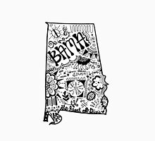 Hipster Alabama Zentangle Unisex T-Shirt