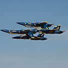 Blue Angels - Double Farvel Formation by Buckwhite
