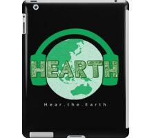 Hear the Earth iPad Case/Skin