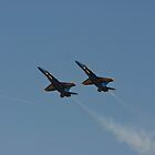 Blue Angels - High Alpha Pass by Buckwhite