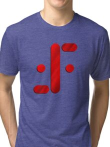 Visitor Symbol (Classic 'V') Tri-blend T-Shirt