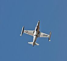 Lockheed T-33 Shooting Star by Buckwhite