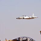 Lockheed T-33 Shooting Star by Buckwhite