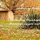Happy Thanksgiving by Susan Blevins