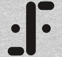Visitor Symbol (Classic 'V') Black One Piece - Long Sleeve