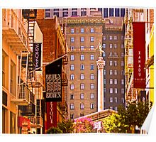 Union Square  - San Francisco Poster