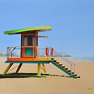 SOBE LIFEGUARD SHACK by jsalozzo