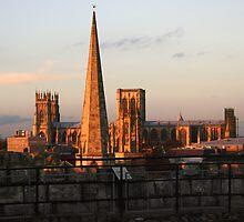 York roof tops by leephotoofyork