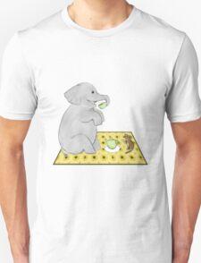 Elephant and Mouse Tea Party Unisex T-Shirt