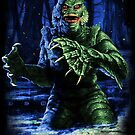 Legend of the Black Lagoon by cs3ink