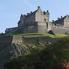 Edinburgh Castle in the autumn by AmandaJanePhoto