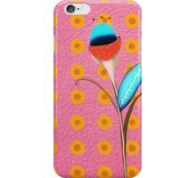 Blue flower iPhone Case/Skin
