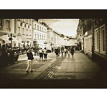 People on the Streets Photographic Print