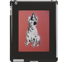 Red Graffiti English Bull Terrier iPad Case/Skin