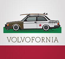 Volvofornia Slammed Volvo 242 240 Coupe California Style by Tom Mayer