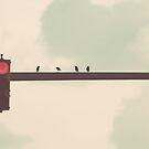 four little birds by beverlylefevre
