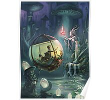 The Mushroom Fairy Poster
