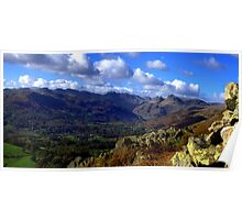 loughrigg to bowfell Poster