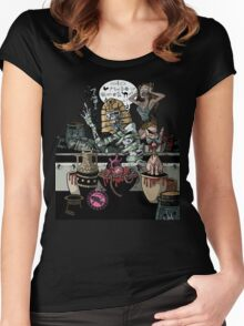 Tomb of the Cursing Mummy Women's Fitted Scoop T-Shirt