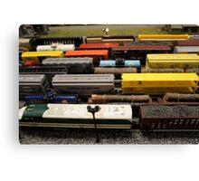 Nostalgic Toy Trains Canvas Print