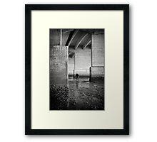 Physical Fraction VII Framed Print