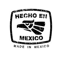 Hecho en Mexico white by Jimmy Rivera