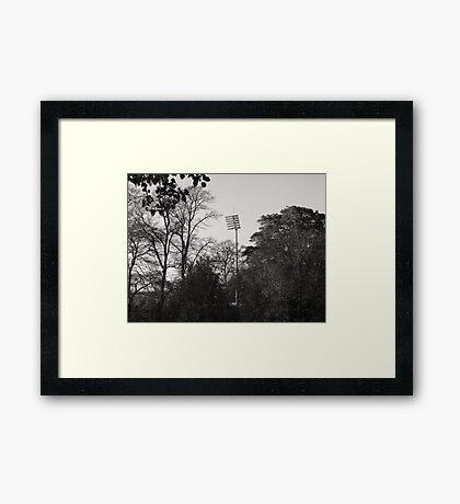 Invasion of the Mechanoid Tree Framed Print