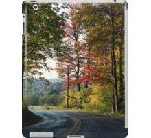 Taking the scenic route iPad Case/Skin