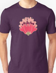 flat flowers Unisex T-Shirt