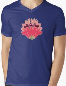 flat flowers Mens V-Neck T-Shirt