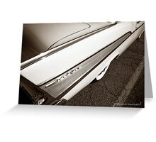Classic Car 221 Greeting Card