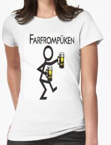 Farfrompukin Womens Fitted T-Shirt