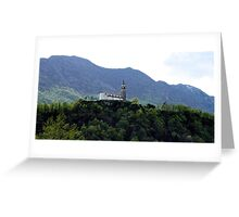 Church in the Alps Greeting Card