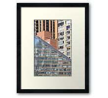 Single in the City Framed Print