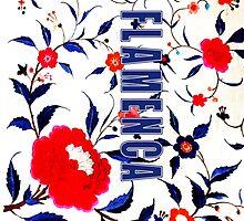 Flamenca Manton 1 by PulgaPrints