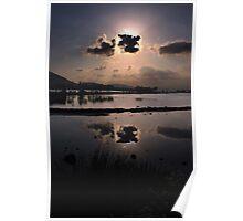 Elounda Salt lakes  Poster