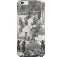 Revolution Palermo Sicily Massacre of people at the Convent of The White Benedictines 1860 iPhone Case/Skin