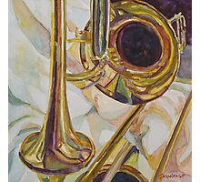 Brass at Rest Photographic Print