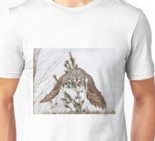 A commanding gaze Unisex T-Shirt