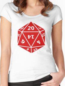 D&D20 Women's Fitted Scoop T-Shirt