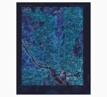 USGS Topo Map District of Columbia DC Washington West 256983 1951 24000 Inverted One Piece - Long Sleeve
