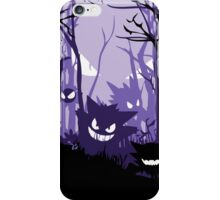 Haunted Forest Gengar gastly Pokemon iPhone Case/Skin