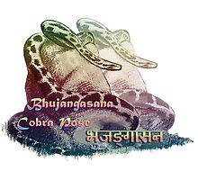 Bhujangasana - Yoga Cobra Pose by BSherdahl