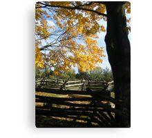 Landis Valley Fall 2 Canvas Print