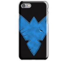 Nightwing Damaged (Blue) iPhone Case/Skin