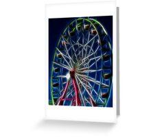 State Ferris Wheel Greeting Card