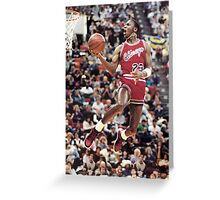 michael jordan chicago bulls Greeting Card