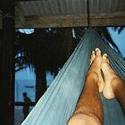 Hammock Feet - Koh Phangan, Thailand by joegardner