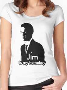 Jim is My Homeboy Women's Fitted Scoop T-Shirt