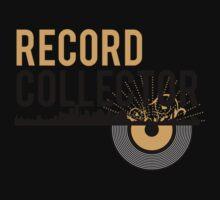 Underground Record Collector One Piece - Short Sleeve